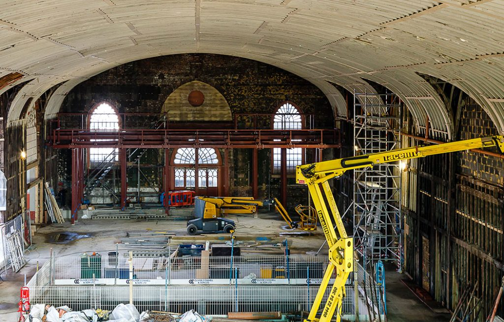 Corn Exchange's refurbishment