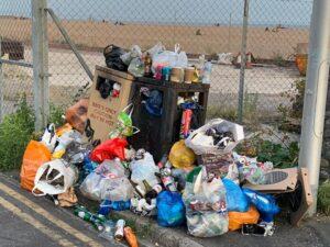 Brighton rubbish