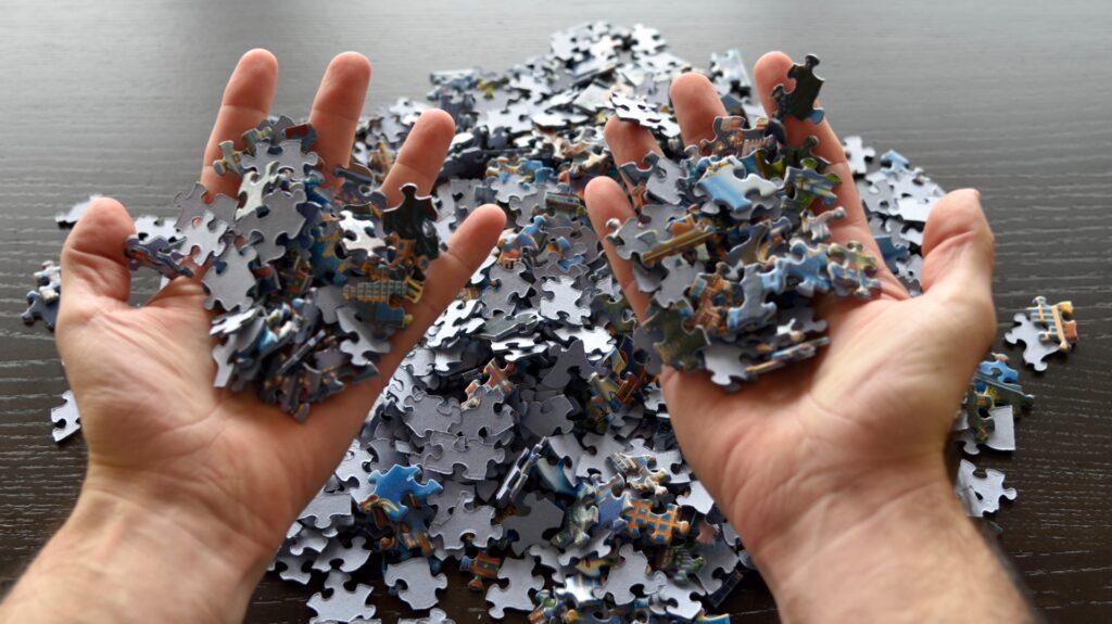 Jigsaw frustration