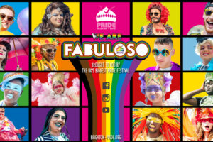 Brighton Pride presents We Are FABULOSO, a huge online event on Fri 31 July - Sun 2 Aug 2020