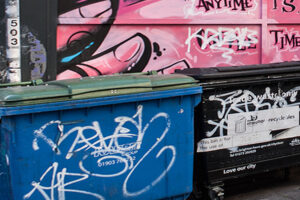 Brighton & Hove City Council have made it easier to report problems with graffiti