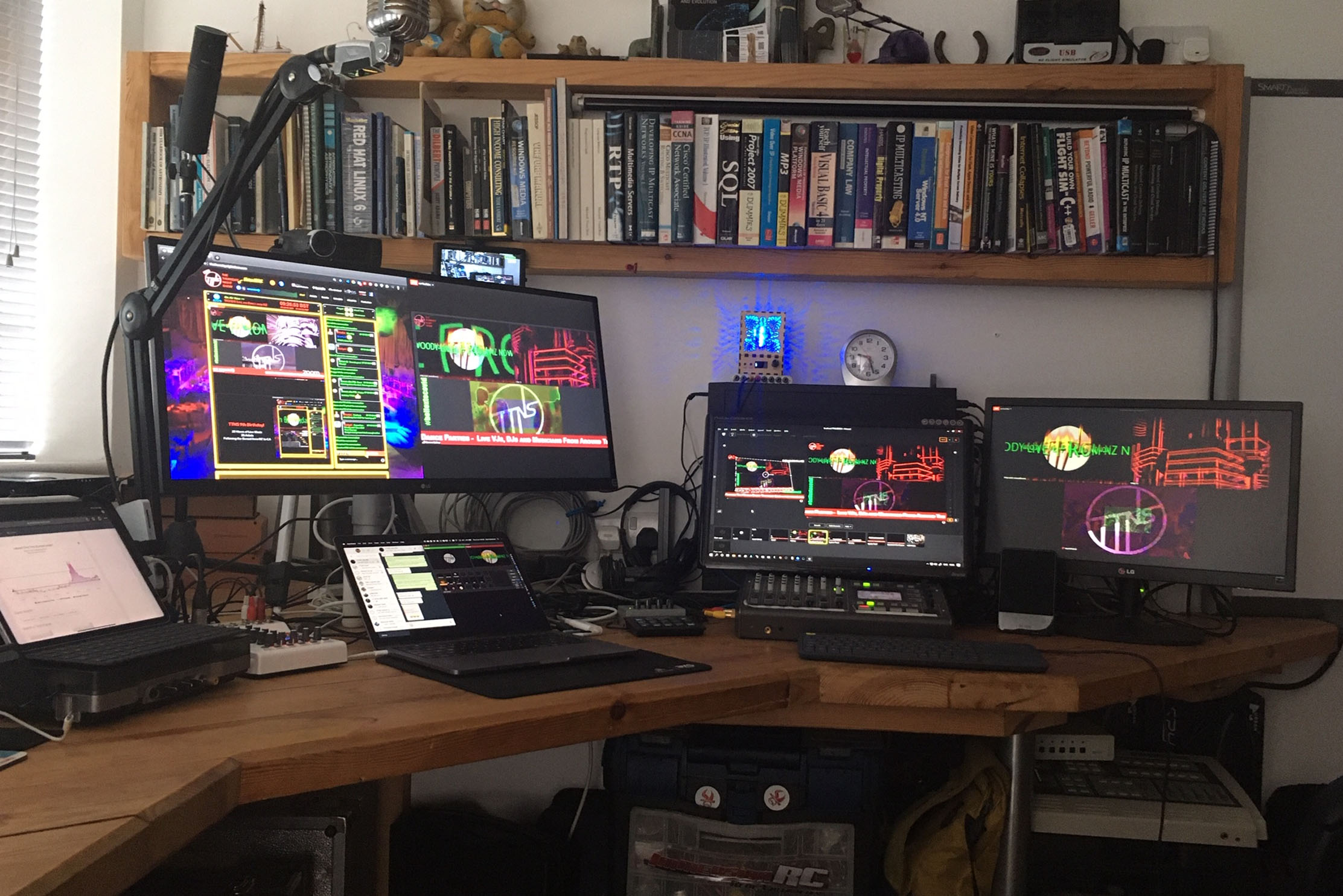 BN1 talks to Dom Robinson, the creator of The Thursday Night Show – the Rottingdean-based internet station with a global reach