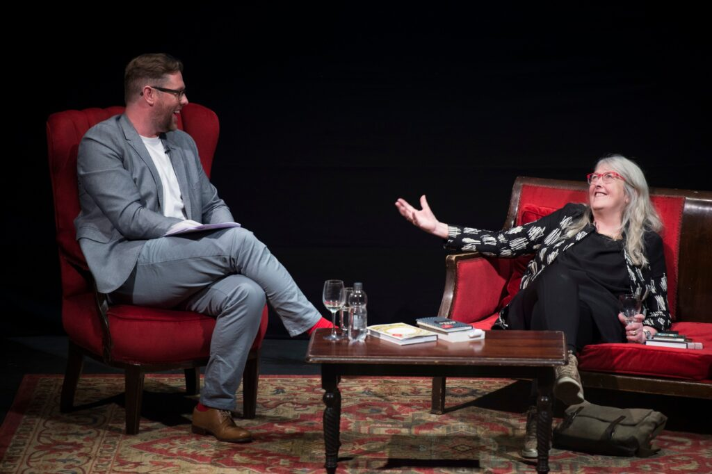 Damian Barr talks to Dame Mary Beard